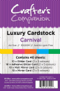 Cranfters Companion Luxury Cardstock Pack - Carnival